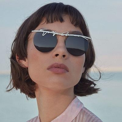 نظارات شمسية بشعار جورجيو أرماني Giorgio Armani