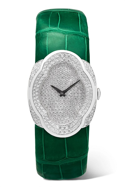 ساعة فاخرة ملونة من بوشيلاتي Buccellati