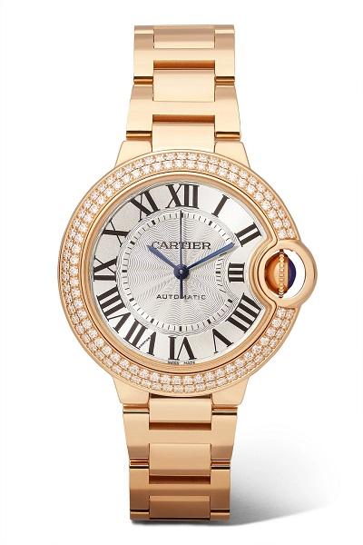 ساعة فاخرة من كارتييه Cartier
