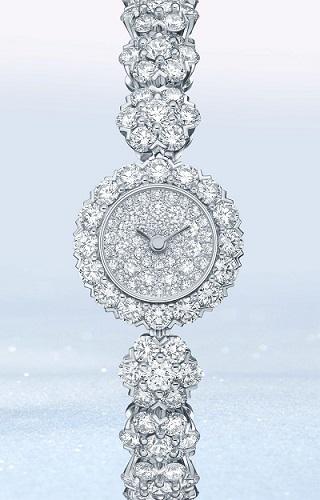 ساعة الماس من فان كليف اند آربيلز Van Cleef&Arpels
