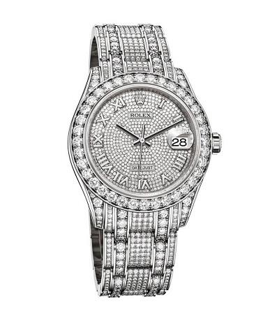 ساعة الماس من رولكس Rolex