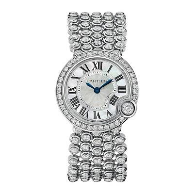 ساعة نسائية فخمة من كارتييه Cartier