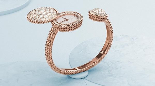 ساعة يد ذهب من فان كليف اند اربيلز Van Cleef& Arpels