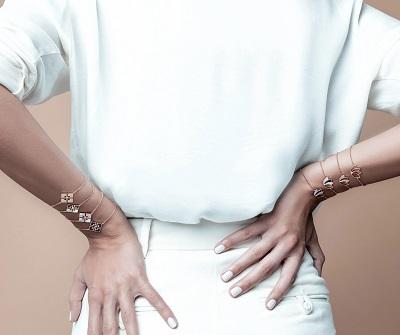 تصاميم من المجموعة الأولى لمجوهرات Hamda