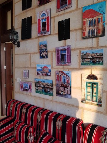"""الماضي والحاضر في """"بيت الورد الدمشقي"""" في لبنان"""