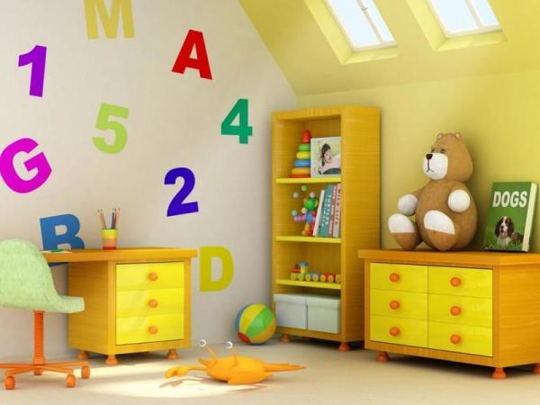 التدبير المنزلي: نصائح ترتيب غرفة نوم الطفل