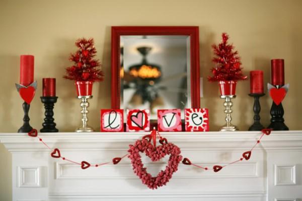 أفكار ديكور ليوم الحب (فالنتاين)