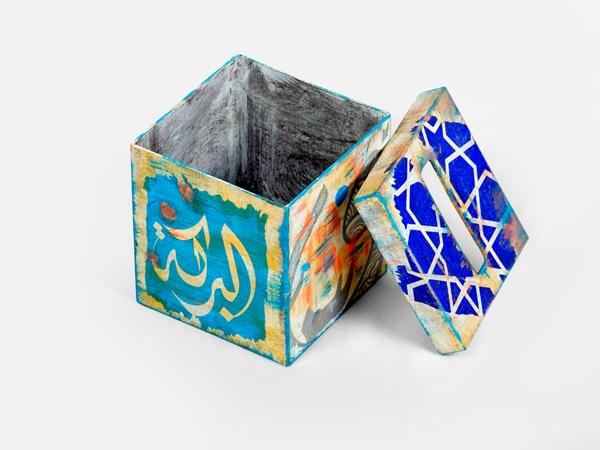ديكورات منزلية رمضان محملة بجاذبية