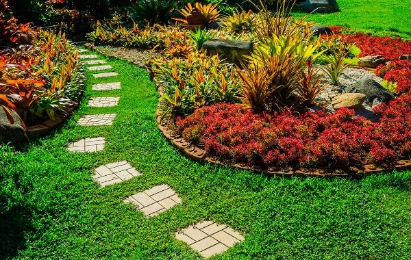 تصميم حدائق خارجية بالتفصيل