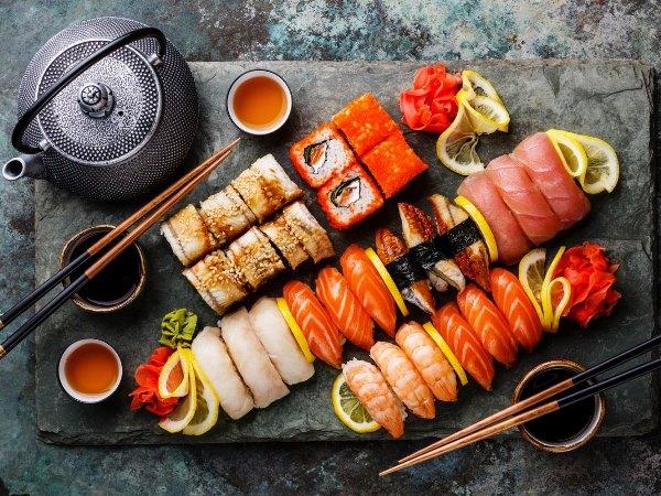 نصائح الرجيم عند تناول السوشي