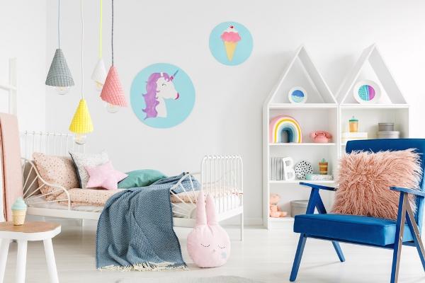 ديكورات غرف نوم اطفال بنات