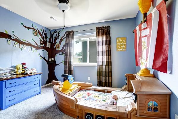 نصائح ديكور لاختيار موكيت غرف نوم اطفال وبالغين