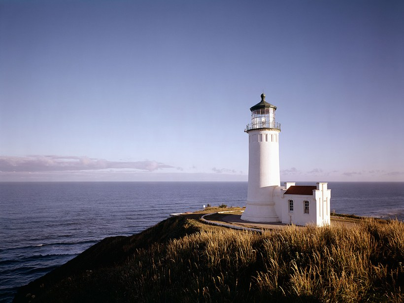 North Head Lighthouse في ولاية واشنطن