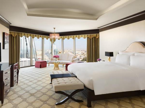 نموذج من الغرف في فندق كمبينسكي العثمان