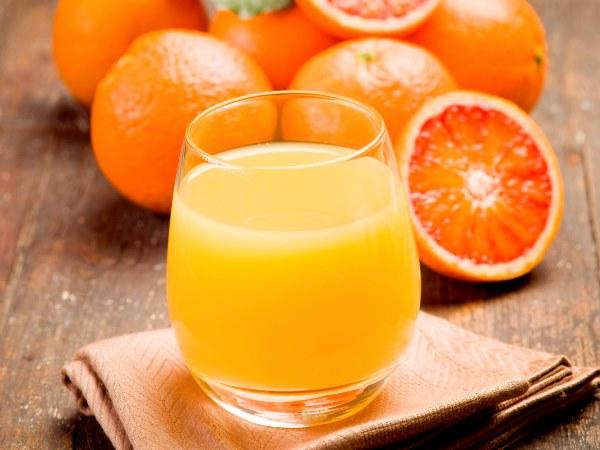 عصير البرتقال في رجيم رمضان