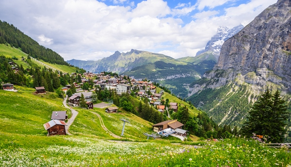 السياحة في الريف السويسري