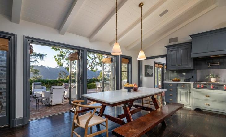 المطبخ في منزل جودي فوستر Jodie Foster