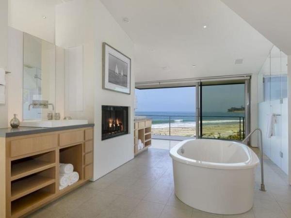 تزيين الحمامات على طراز منازل المشاهير