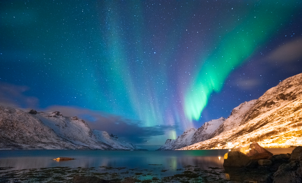 صور سياحة: الأضواء الشمالية في 6 وجهات شتوية
