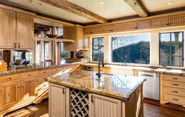 المطبخ في منزل ميل غيبسون Mel Gibson