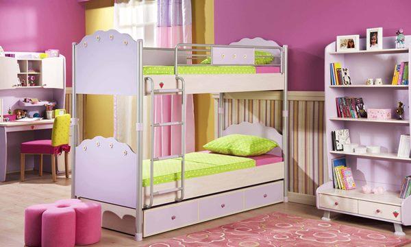 نصائح ديكورات غرف نوم أطفال متفاوتي الأعمار