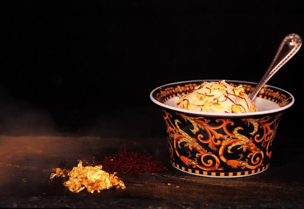 صور: الألماس والذهب في أكواب الآيس كريم الأغلى في العالم