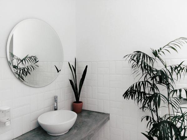 ديكور حمامات صغيرة