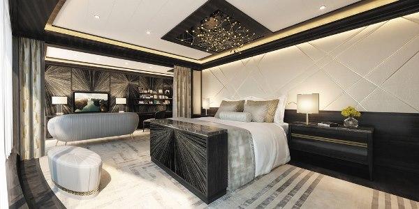 صور: سرير في جناح بحري بقيمة 200 ألف دولار