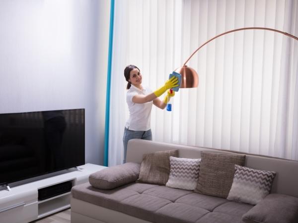 التدبير المنزلي: خطوات التنظيف للتخلص من الغبار