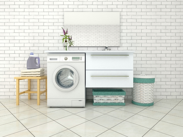 التدبير المنزلي: نصائح سريعة لترتيب غرفة الغسيل