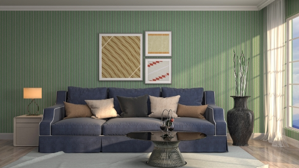 نصائح ديكور: لوحات جدارية فخمة في المنازل السعودية