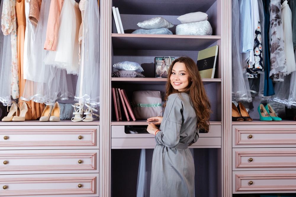 التدبير المنزلي: 7 أفكار لترتيب دولاب الملابس
