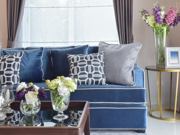أبراج الفلك والديكورات: الأزرق في منازل مواليد برج السرطان