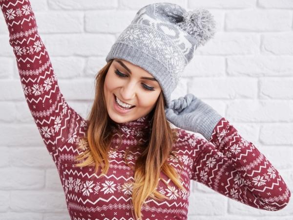 اتيكيت الملابس الشتوية