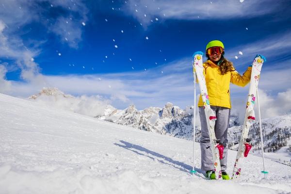 اتيكيت التصرف أثناء التزلج