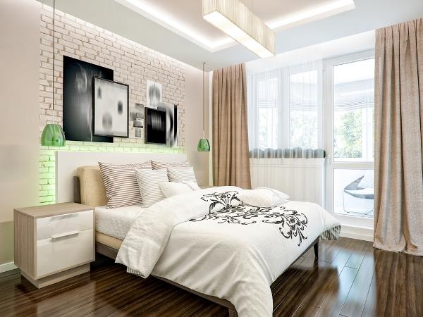 نصائح في الديكور لتوسيع غرفة النوم الضيقة
