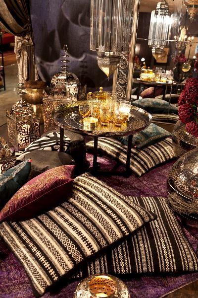 صور ديكورات رمضان في زوايا البيت