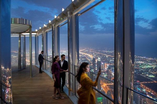 """""""إعمار"""" تفتتح """"ذا لاونج برج خليفة"""" الأعلى في العالم"""