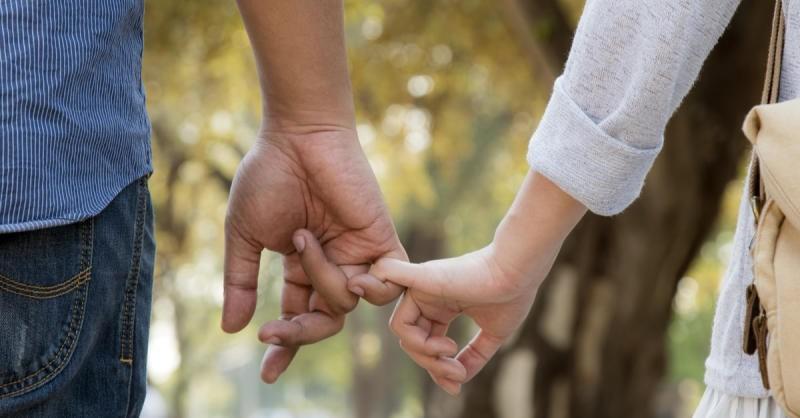 حب بين الشريكين