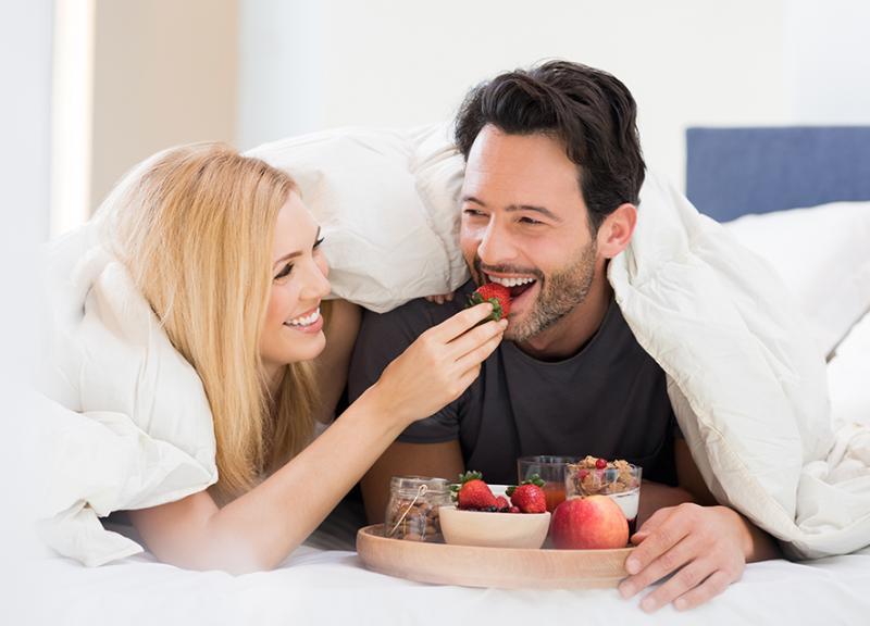 رومانسية بين الزوجين