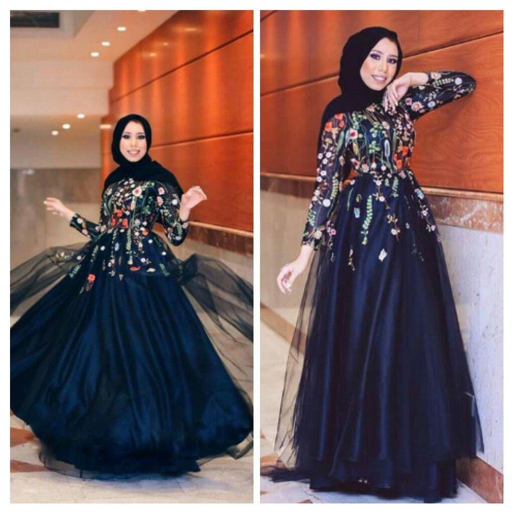 a6ef11cf3 أن تجدي فستانًا أنيقًا ومحتشمًا وبأكمام طويلة يناسب حجابكِ، خيار كان صعبًا  قليلًا، لكنّ الأمر أصبح أسهل الآن، مع الاطلالات بـ الفساتين السواريه من  مدونات ...