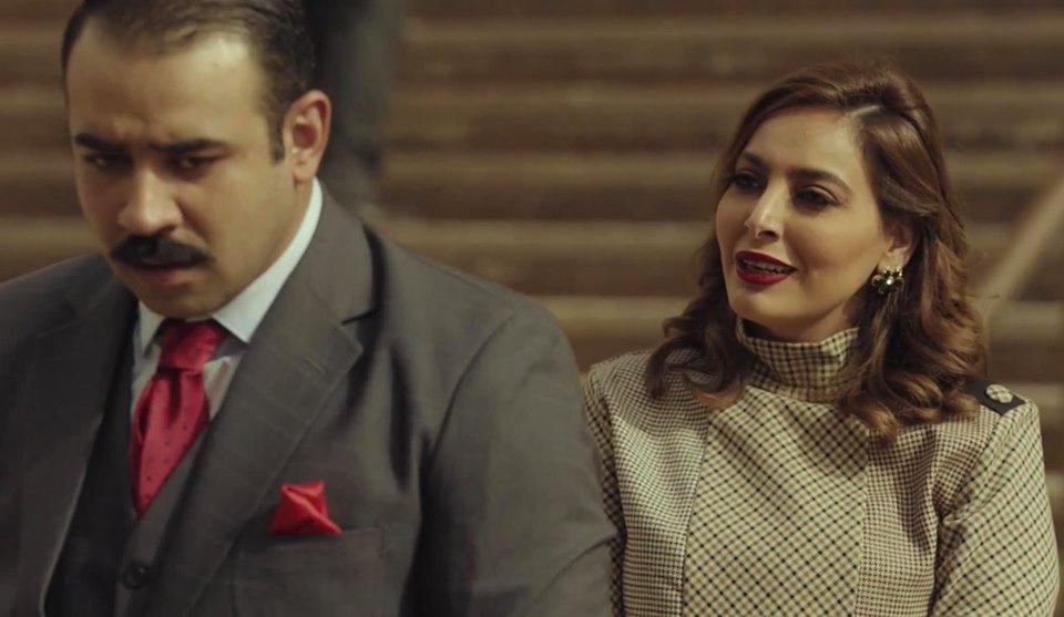 فاطمة الصفي وبشار الشطي من مسلسل دفعة القاهرة