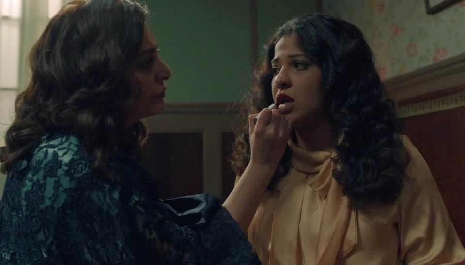 لولوة الملا وفاطمة الصفي من مسلسل دفعة القاهرة