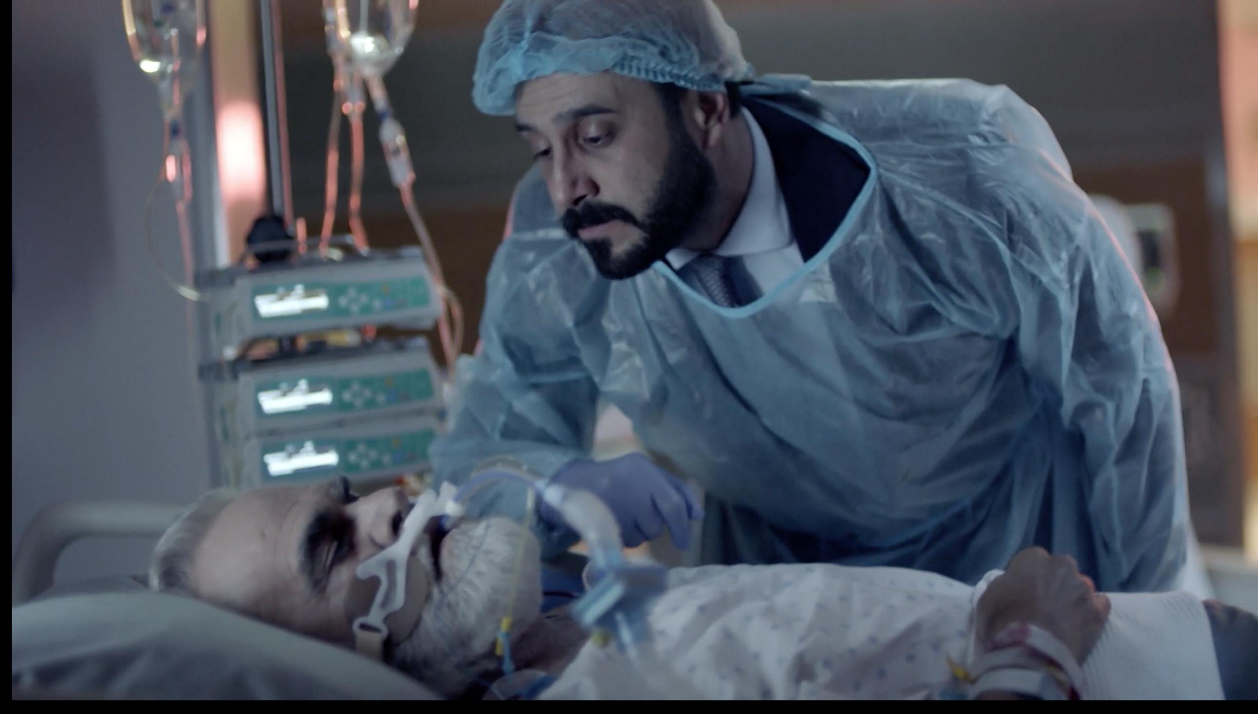 قصي خولي ورفيق علي أحمد من مسلسل خمسة ونص