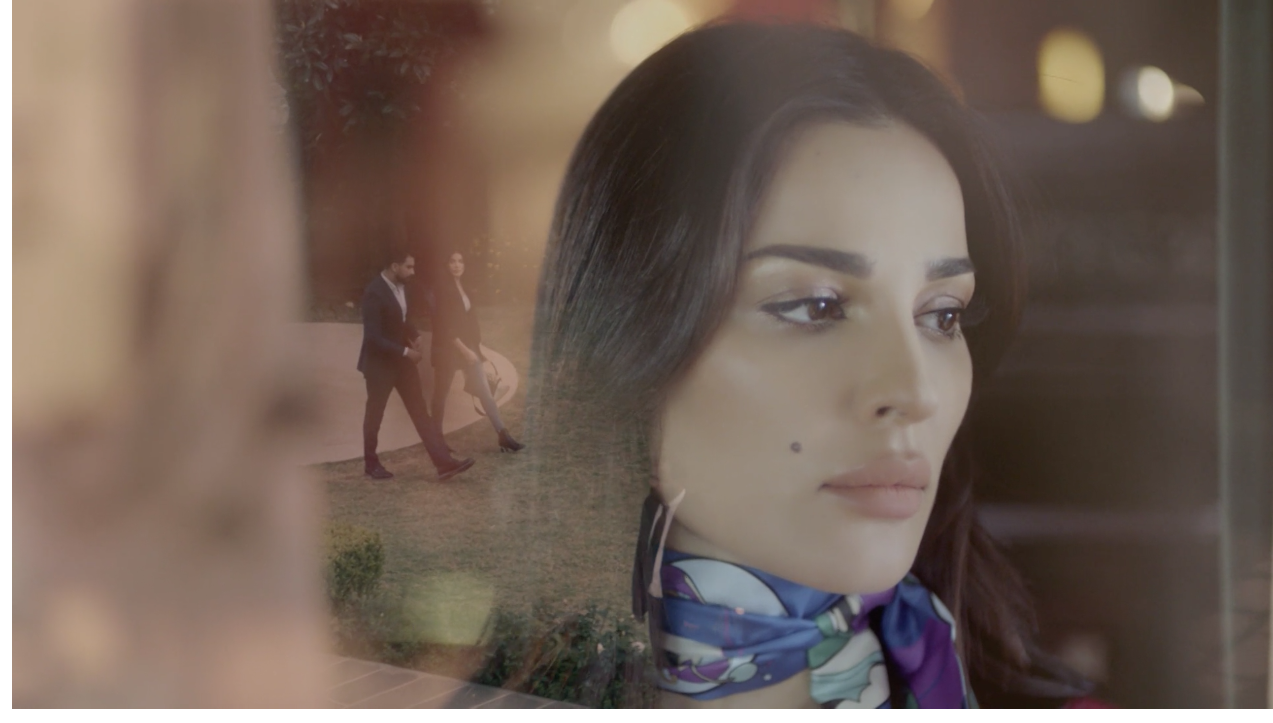 لقطة من مسلسل خمسة ونص