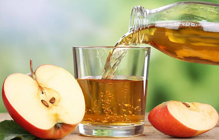 خل التفاح المخفف بالماء علاج للاكزيما