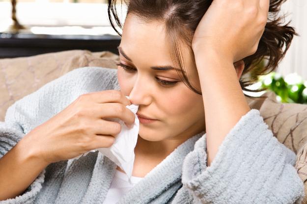 الإصابة بالانفلونزا قد تسبب الكحة