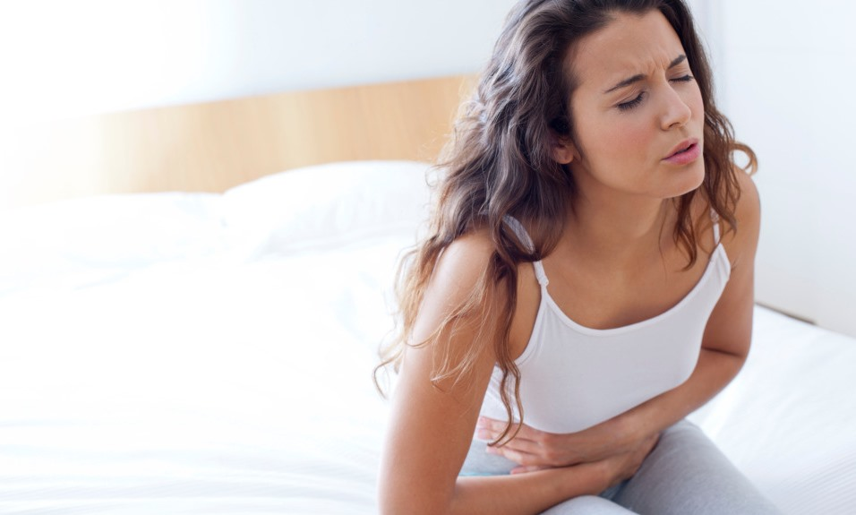 الشعور بالألم عند لمس منطقة البطن