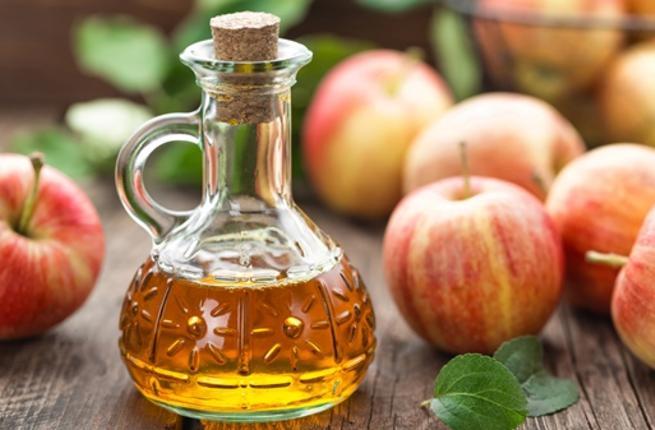 كمادات خل التفاح لعلاج البواسير الخارجية