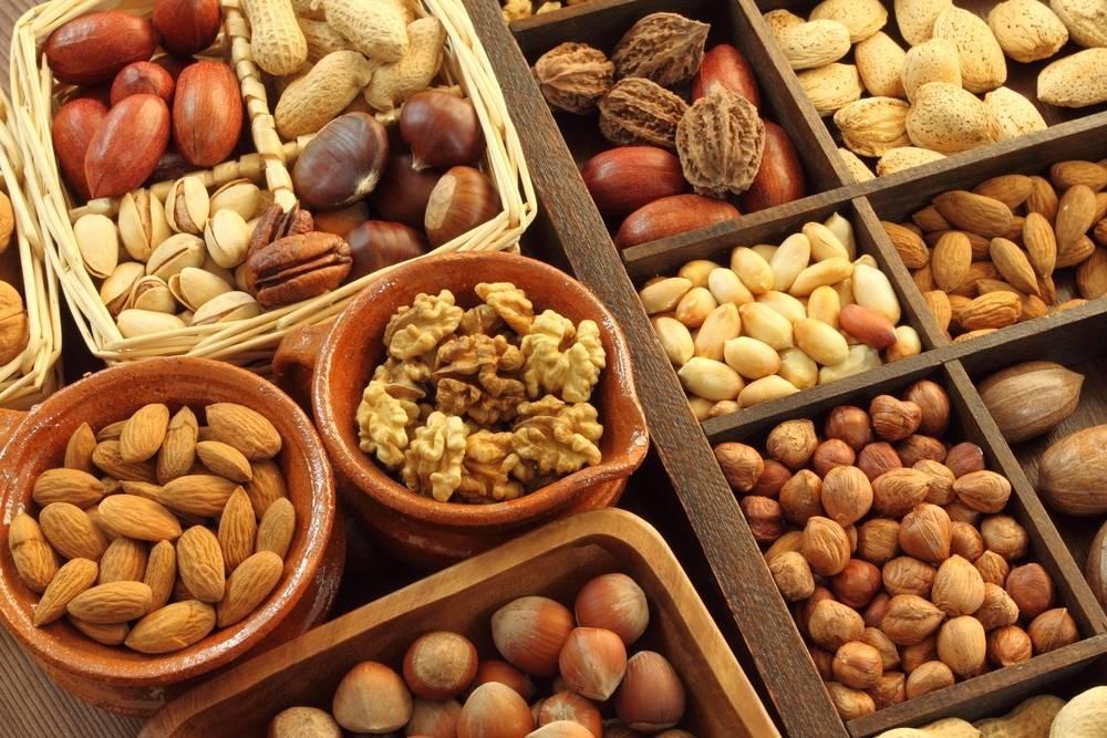 المكسرات من الأطعمة الغنية بمضادات الأكسدة
